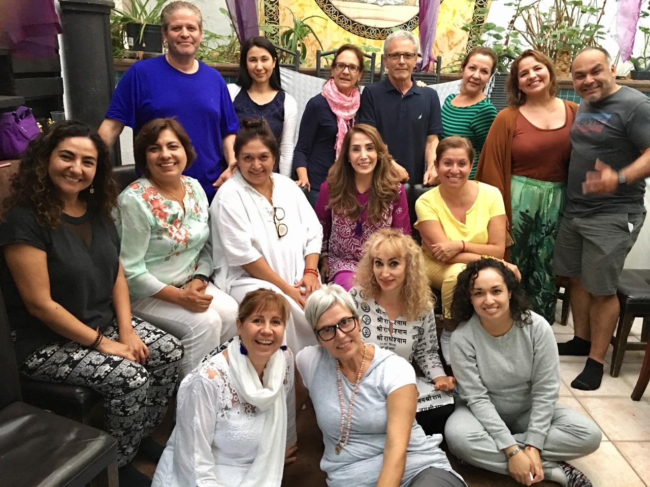 Participants of The Beautiful State in Mexico radiate love and joy. They expressed their gratitude for the power of the wisdom and the processes they received.