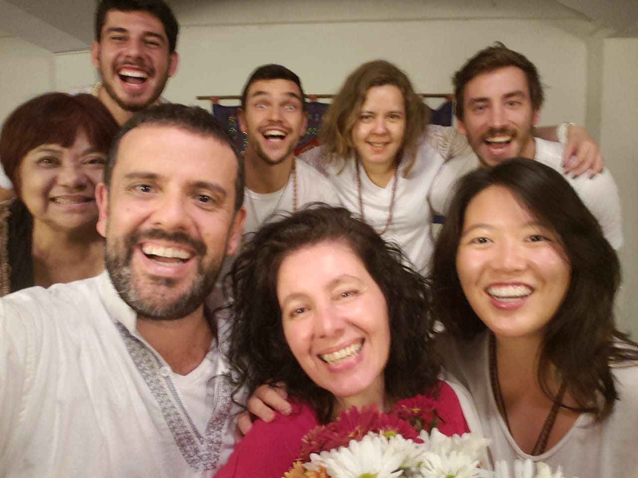 One Consciousness Trainer Ananda Jay led the Stress Detox in Brazil. Participants loved the process and the meditations.